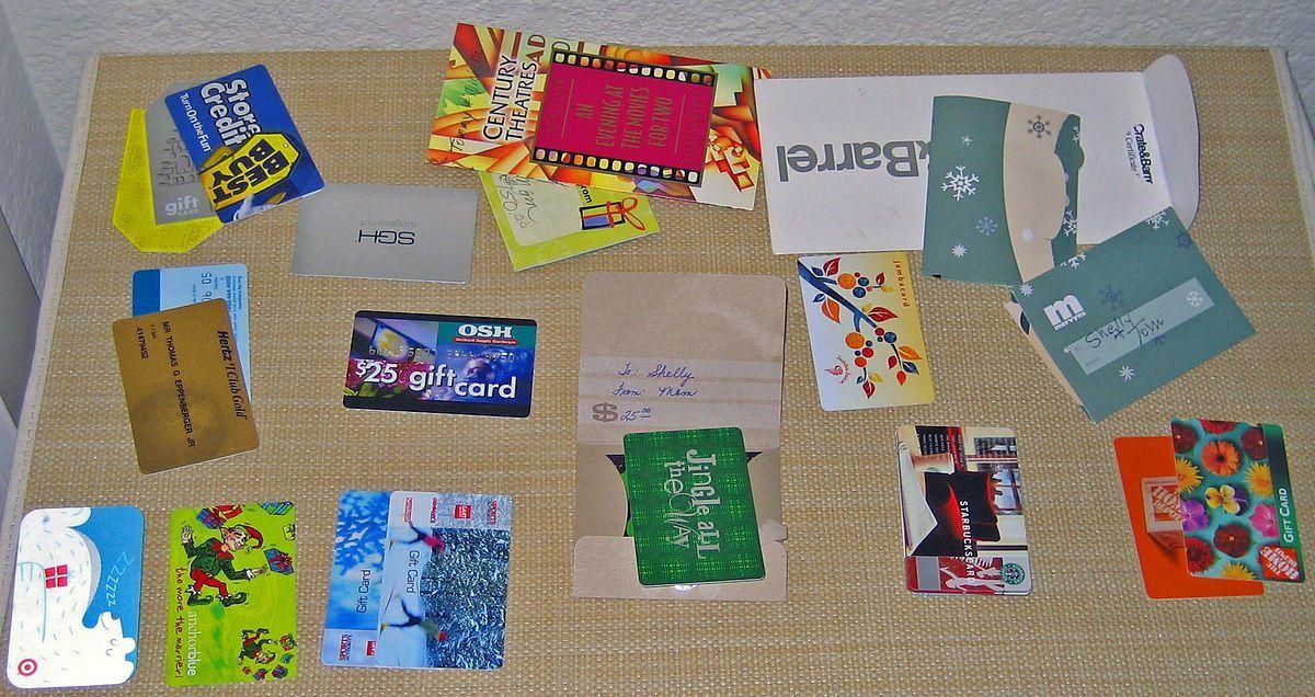 Gift card - Wikipedia
