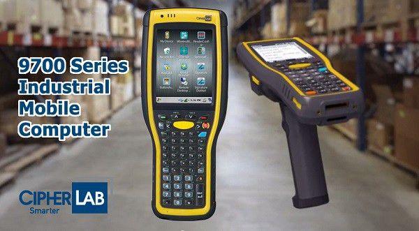CipherLab 9700 Series RF Gun Scanner Is Named The Best Industrial ...