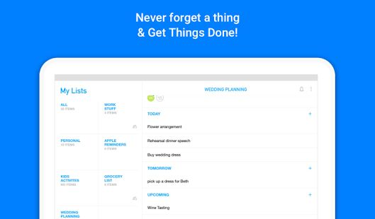 Any.do: To-do list, Calendar, Reminders & Planner - Android Apps ...