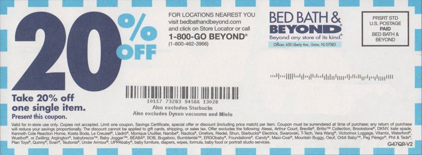 Which Bed Bath & Beyond Coupon Should You Use? - Robert Kaplinsky