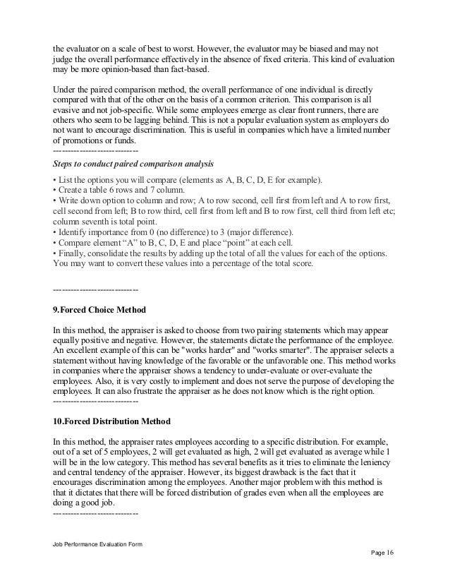 Education recruitment consultant performance appraisal