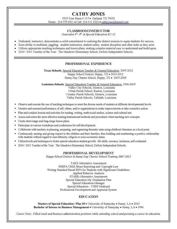 Elementary Teacher Cover Letter Sample | Teacher Resume and Cover ...