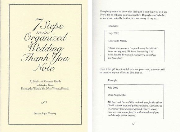 Thankful for A Thank You Note Guide | The Wedding Yentas™ | A ...