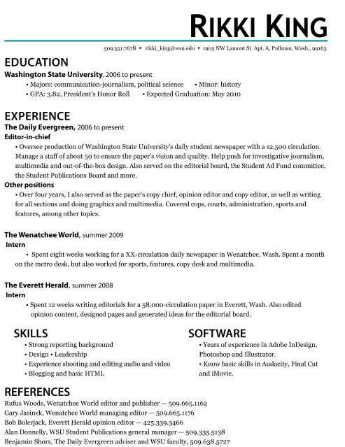 internship resume template download sample resume internship ...