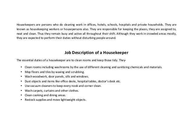 find this pin and more on resume samples executive housekeeper ...