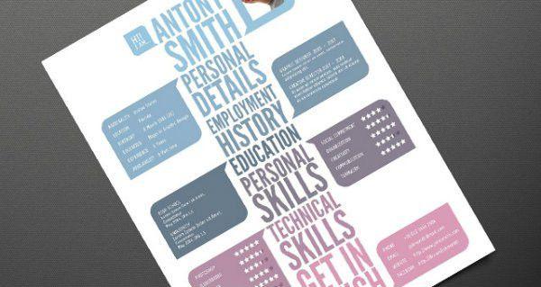 20+ Free Resume Design Templates for Web Designers | Elegant ...