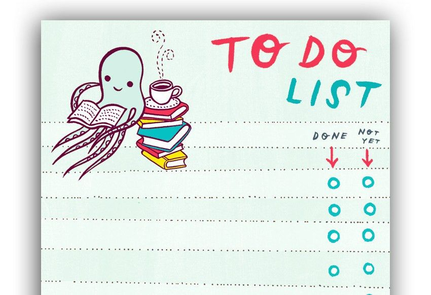 To Do List Stationery | free to do list