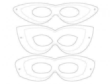 10 Minute Superhero Costume | Mask design, Free printable and ...