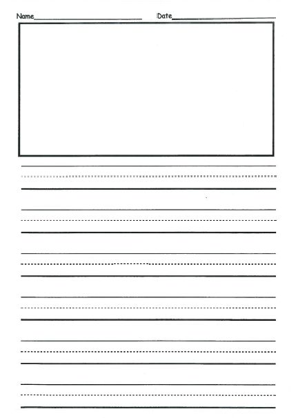 Free 2nd Grade Writing Template | This is front & back and they ...
