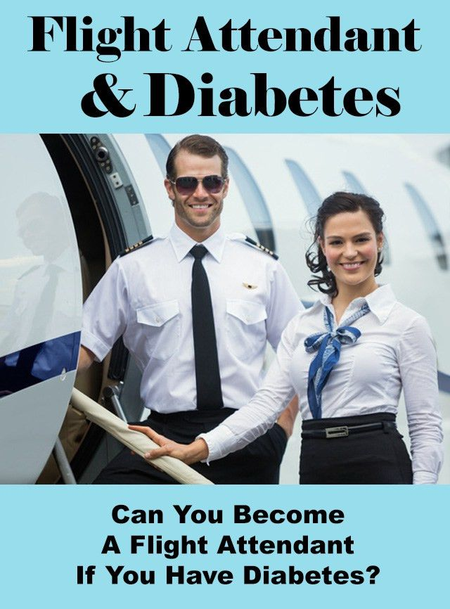 Can You Be A Flight Attendant If You Have Diabetes?