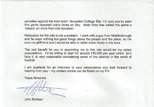 Letters of Note: You were of course the outstanding candidate