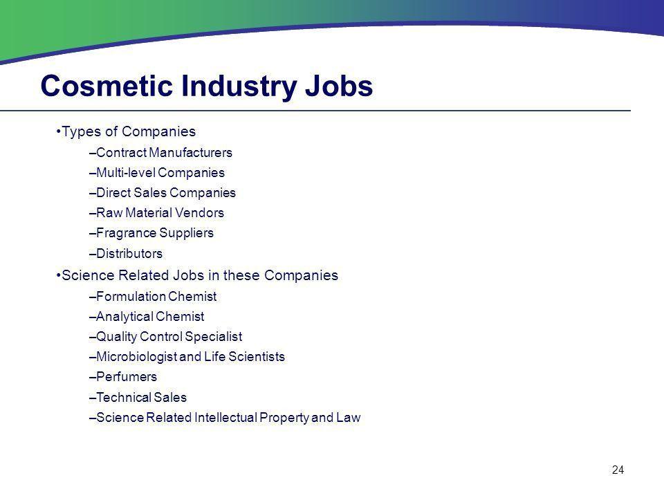 Benedictine University Cosmetic Chemistry Course Topics - ppt download