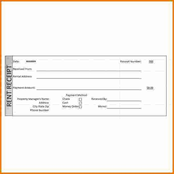 6+ rent receipt template word | Expense Report