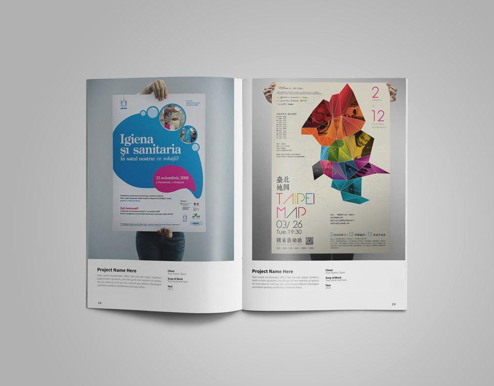 Graphic Designer Portfolio Template - Free Design Resources