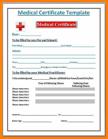 7+ doctor medical certificate format | proof of working