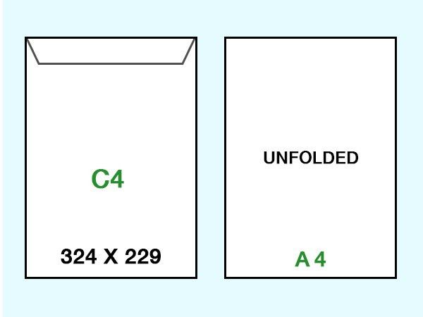C4 Envelopes - Envelope Printing
