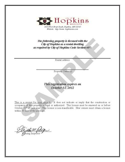 City of Hopkins, Minnesota: Renting in Hopkins