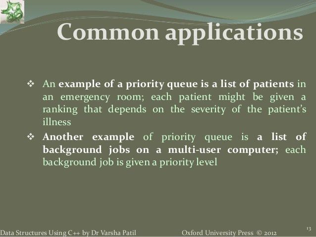 5. Queue - Data Structures using C++ by Varsha Patil