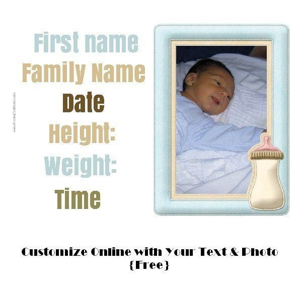 Free Birth Certificate Templates | Cvletter.csat.co