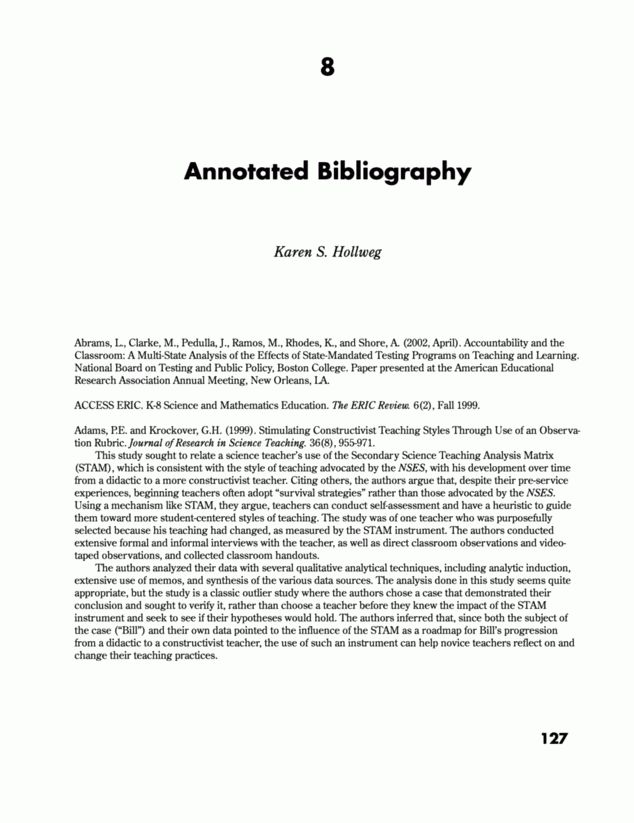 Annotated bibliography header | Fresh Essays