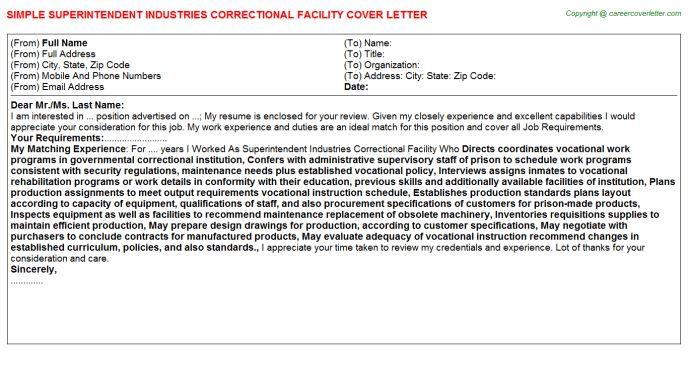 Correctional Facility Nurse Cover Letters