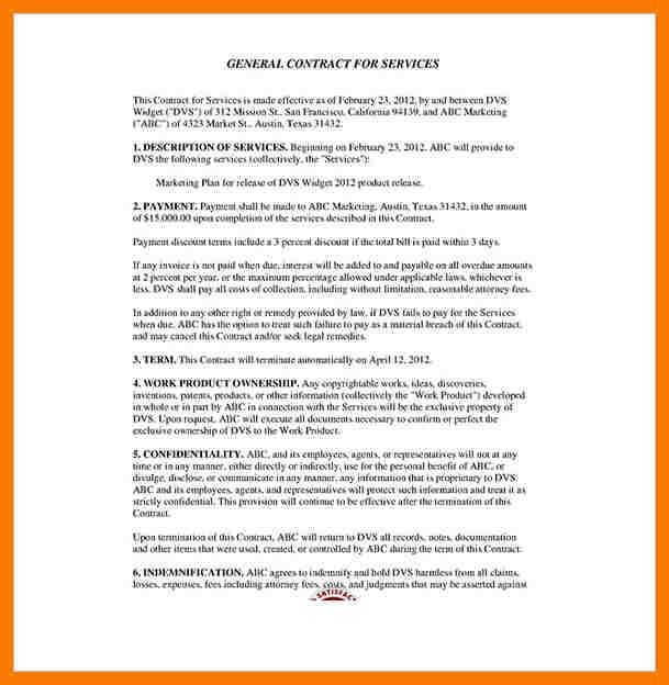 Service Contract Templates. Master-Service-Agreement-Template ...