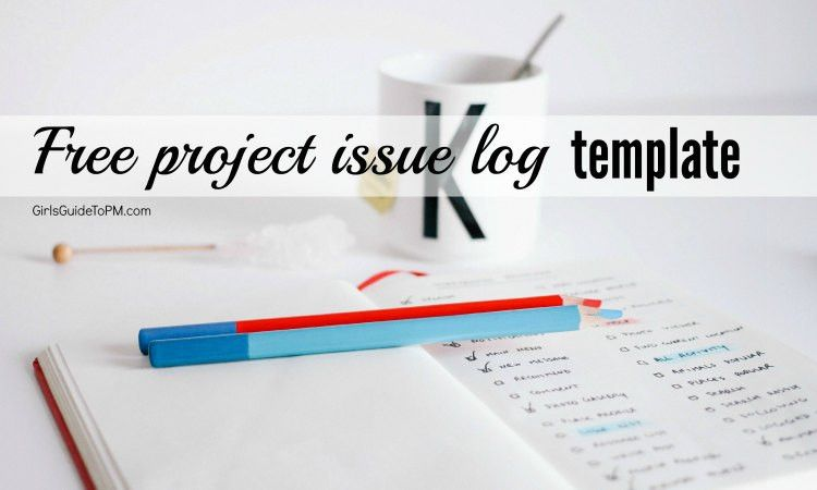 Free Issues Log Template For Your Projects • Girl's Guide to PM