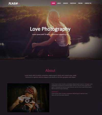 Photography Templates Archives - WebThemez