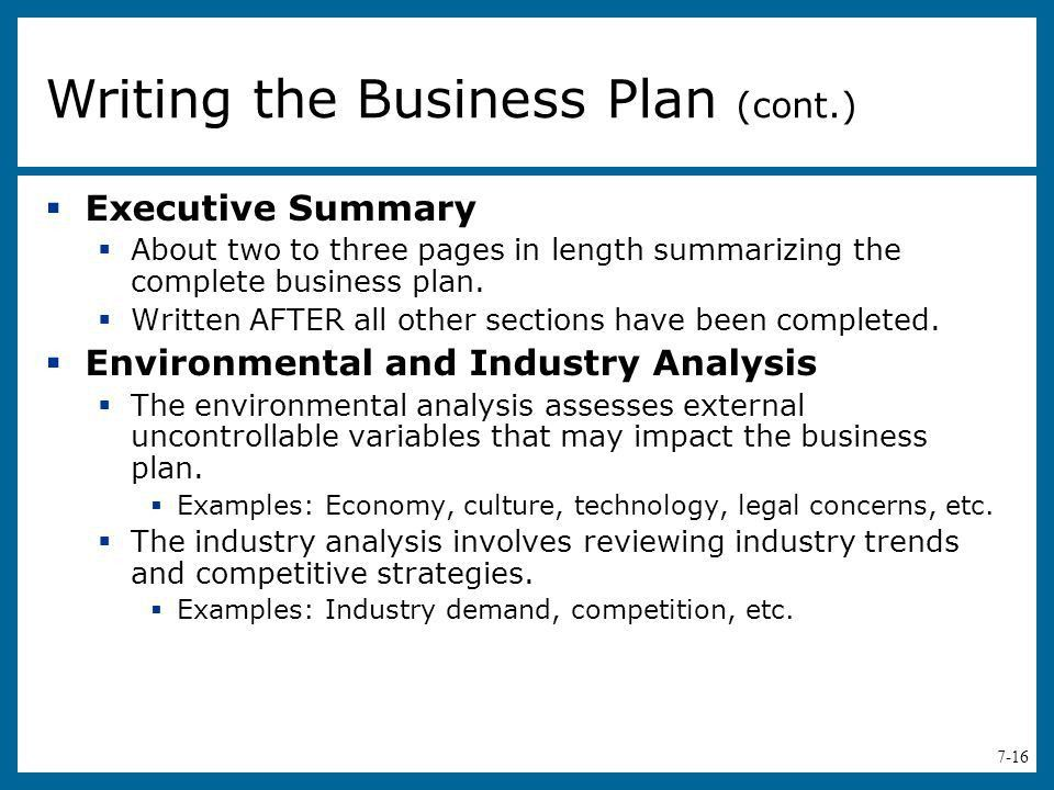 The Business Plan: Creating and - ppt video online download