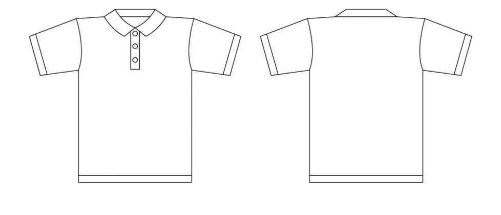 Polo Shirt Template | Free Download Clip Art | Free Clip Art | on ...