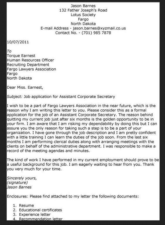 create my cover letter. cover letter template for secretary ...