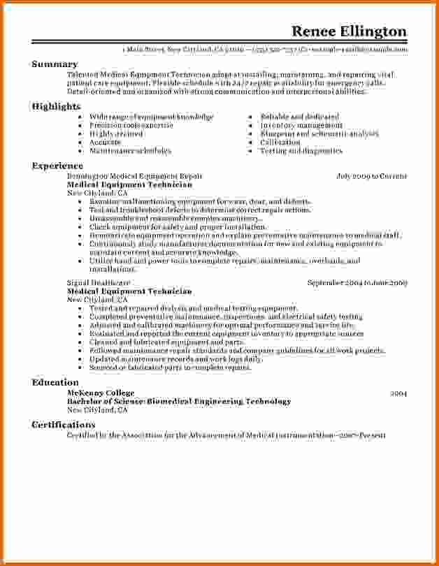 Pleasurable Dialysis Technician Resume 16 Dialysis Technician ...