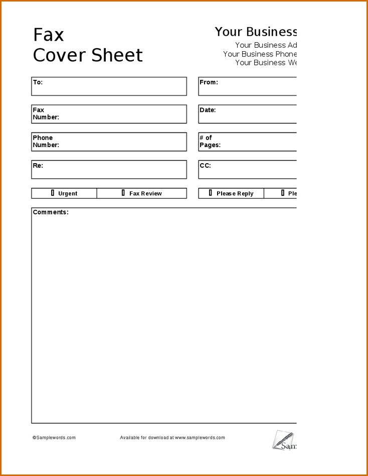 6+ fax cover sheet format | Authorizationletters.org