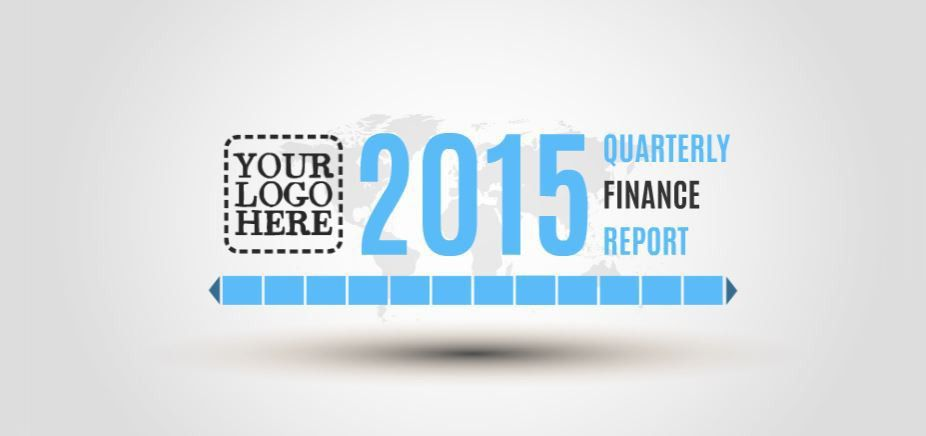 Quarterly Finance Report Presentation Template | ShareTemplates