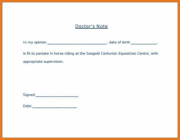 doctors note template pdf | art resume skills