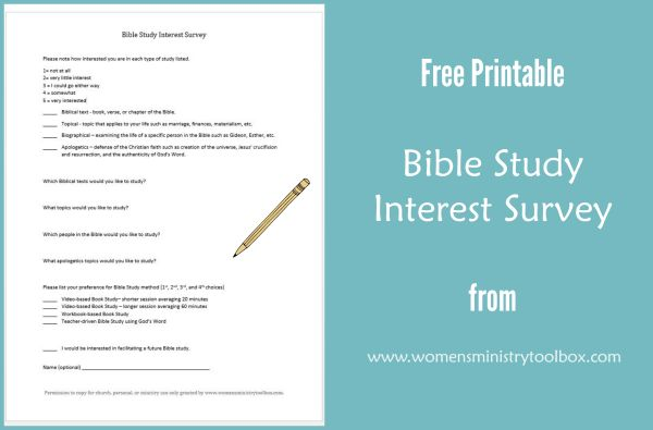 What do your women want to study? - Women's Ministry Toolbox