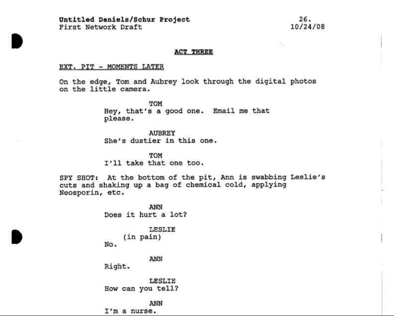 How To Make Sure Your TV Script Is Correctly Formatted For Network ...