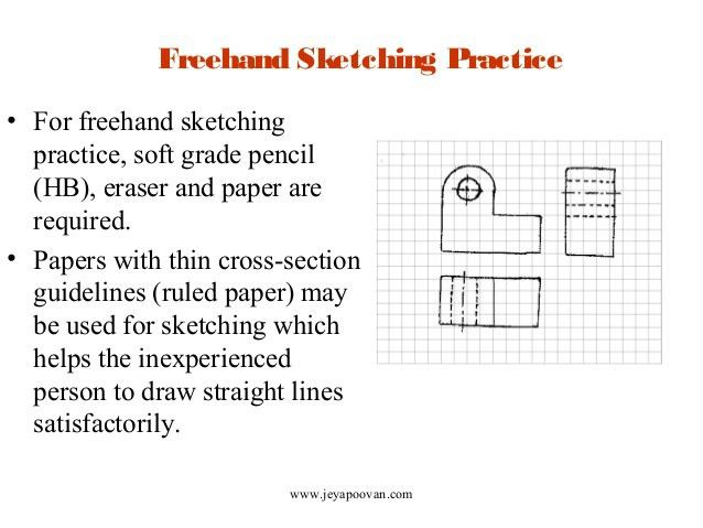 Lesson 14 Freehand sketching - Orthographic projections - Part I