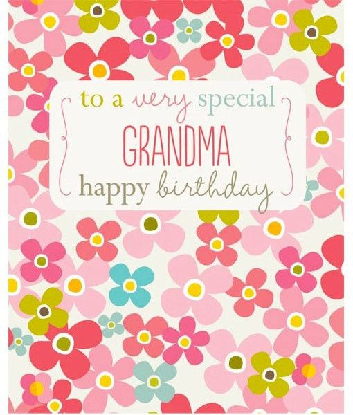 happy birthday cards for grandma birthday cards for grandmother ...