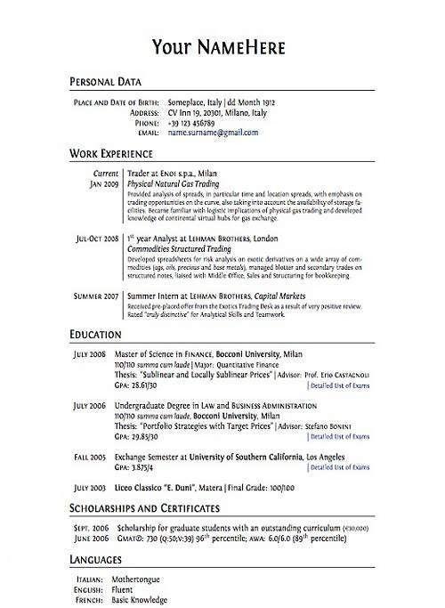 How To Build The Perfect Resume | haadyaooverbayresort.com
