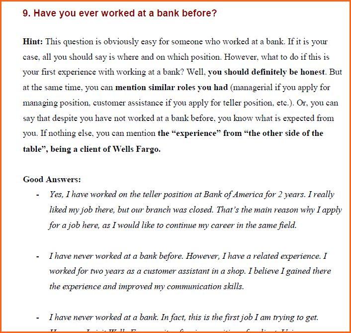 6+ wells fargo job - Budget Template Letter