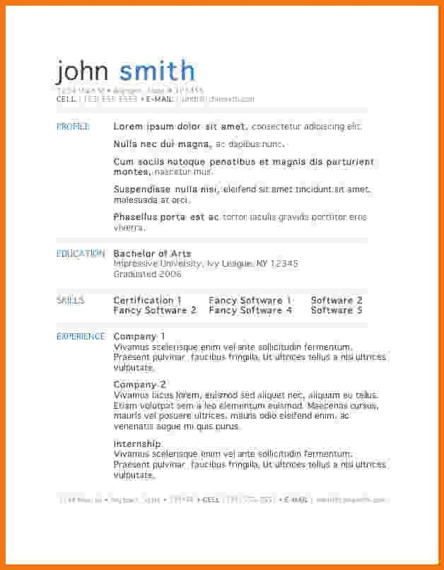 microsoft free resume template download free resume builder 50 - Resume Builder And Download Free