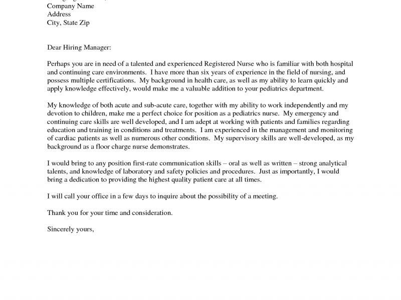 Plush Design Ideas Nursing Resume Cover Letter 12 Staff Nurse ...