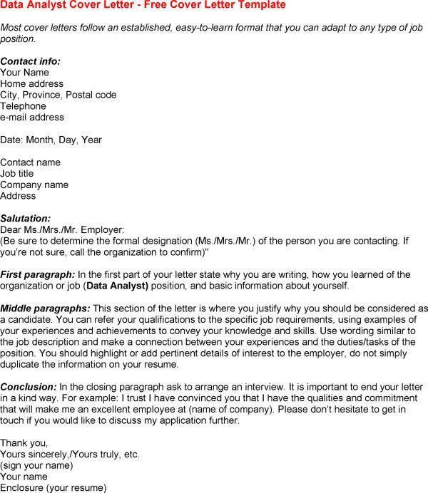Cover letter sample for investigator