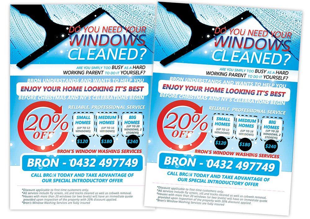 Flyer Design for Bronwyn Marshall by creationz2011 | Design #2783073