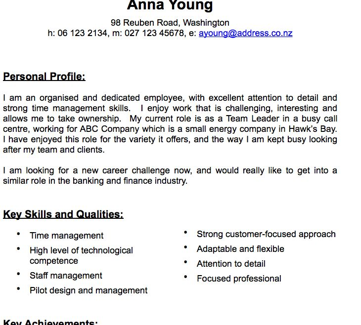 Pages Traditional CV Template (Resume) | Free iWork Templates