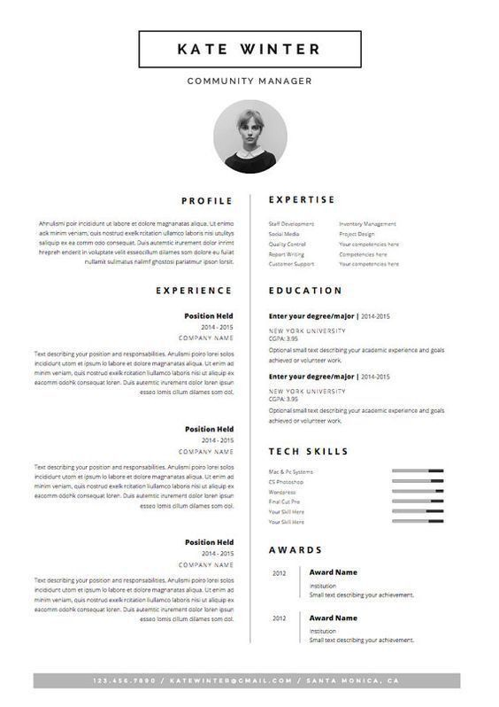 Best 25+ Fashion resume ideas on Pinterest | Internship fashion ...