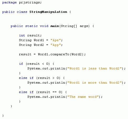 Java For Complete Beginners - Compare Strings