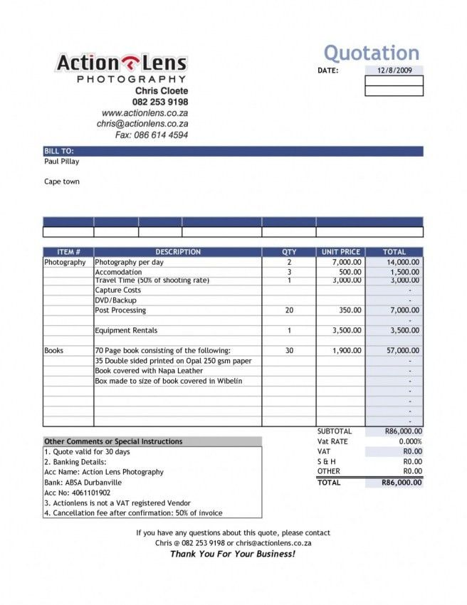 Retail Invoice Template Word | printable invoice template