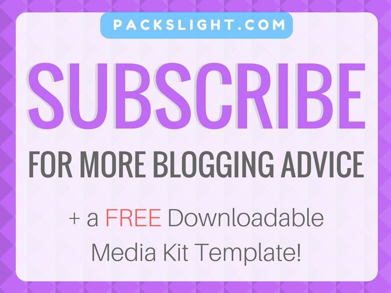 Building Your Blog's Rate Sheet (+Free Downloadable Template)